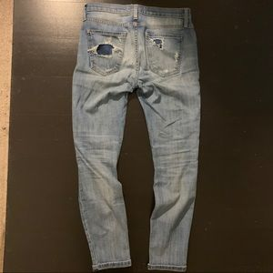 Current/Elliott Jeans - Current Elliott Destroyed Wash Skinny Jeans 26